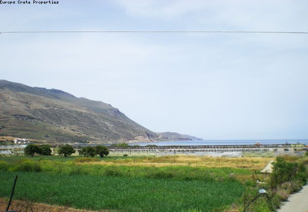 Plots in Gramvoussa with sea view