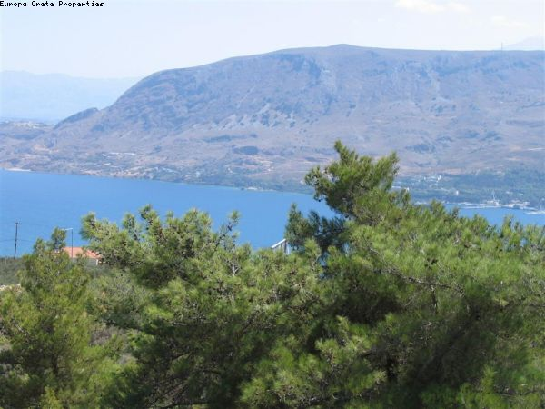 Plot with panoramic view over the Souda bay