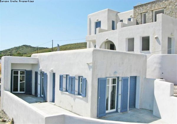 Apartments and semi detached house in Paros