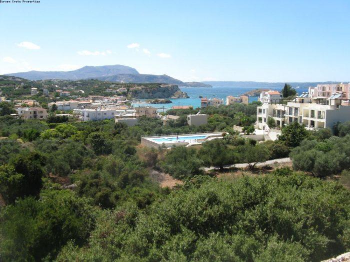 Oικόπεδο στην Αλμυρίδα με θέα στην θάλασσα και στα Λευκά Όρη