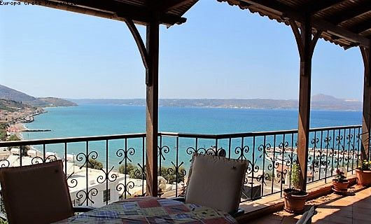 3 bedroom apartment in duplex with sea view in Kalyves