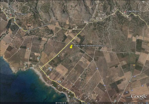 Large plot in South of Chania