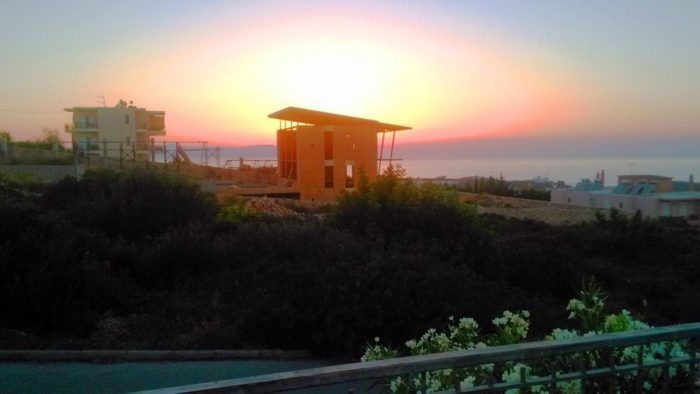 Unfinished villa with sea views in Agios Onoufrios