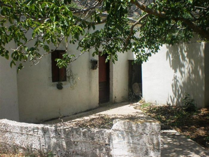 Old stone house in Imvros, Sfakia