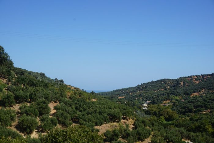 Well priced plot with view near Voukolies