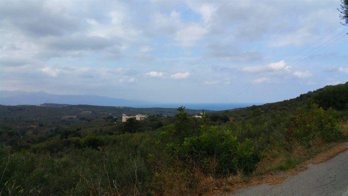 Plot near Platanias for sale