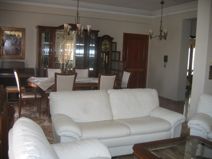 Large apartment for rent fully furnished in Chrysopigi