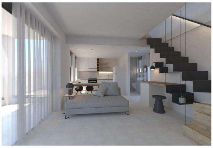 Πολυτελές καινούργιο διαμέρισμα στην Χαλέπα.