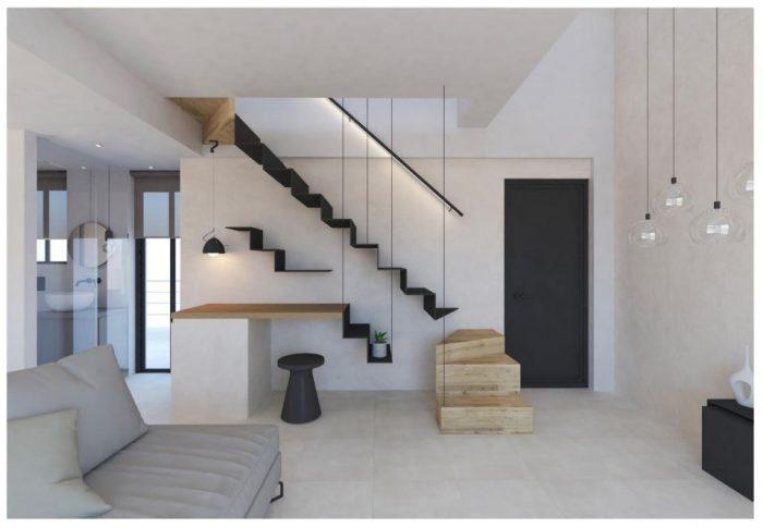 Πολυτελές καινούργιο διαμέρισμα στην Χαλέπα